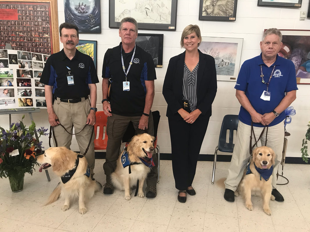 LCC K-9 Ministry Teams Comfort Law Enforcement, Family and Friends
